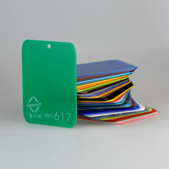Fluorescent Green Cast Acrylic Sheet