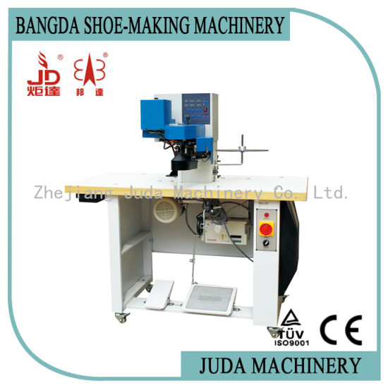 Automatic Hot-Cement Covering Machine Shoe Insole Attaching Making Machine