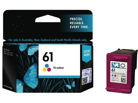 Original Ink Cartridge 61 Balck and Color for HP Inkjet Printer Consumable