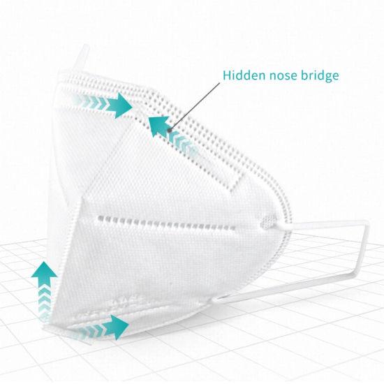 CE FFP2 En149 KN95 Face Mask with Filter Reusable Face Bandanas Contain Meltblown Fabric Mouth Cover