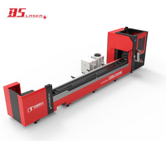 High Accuracy & Top Quality CNC Laser Cutter 1000W/1500W Fibre Laser Cutting Machine for Metal Tube 20-350mm Diameter