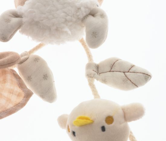 Organic Cotton Baby Chain Toy pictures & photos