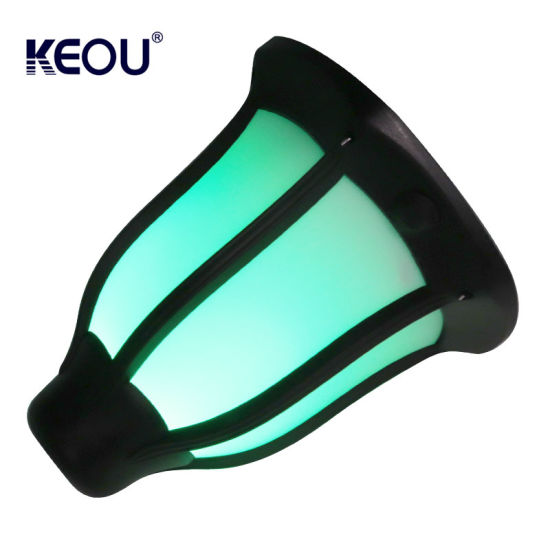 Wholesale Garden Waterproof LED Flickering Flame Lamp Torch Lights Outdoor IP65 Smart Solar Garden Lighting with Green Color pictures & photos
