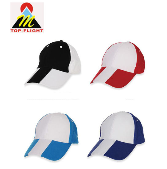 Blank 5 Panel Promotional Cotton Baseball Cap for Wholesale