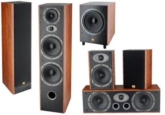 Hf-8.6xd 5.1 Channel Home Theater Audio Speaker