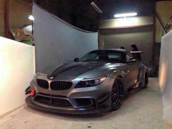 Auto Front Rear Varis Wide Bodykits for BMW Z4 E89
