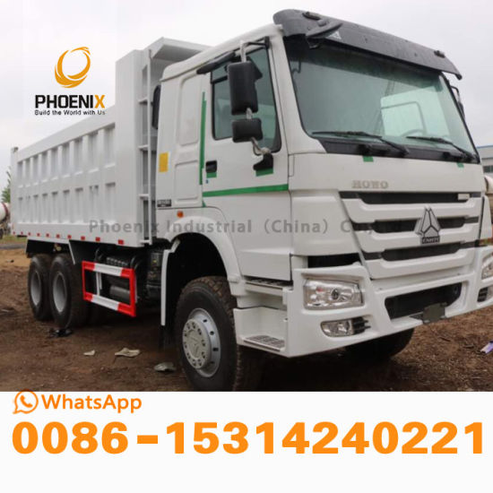 Stock Brand-New Sinotruk HOWO Dump Truck with 10 Wheels Tipper with Good Price Hot Sale at Africa