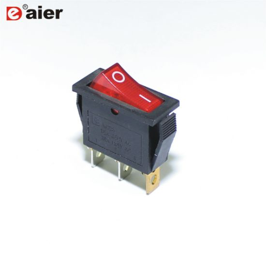 15a 250vac spst on off illuminated 220v rocker switch t85 pictures & photos