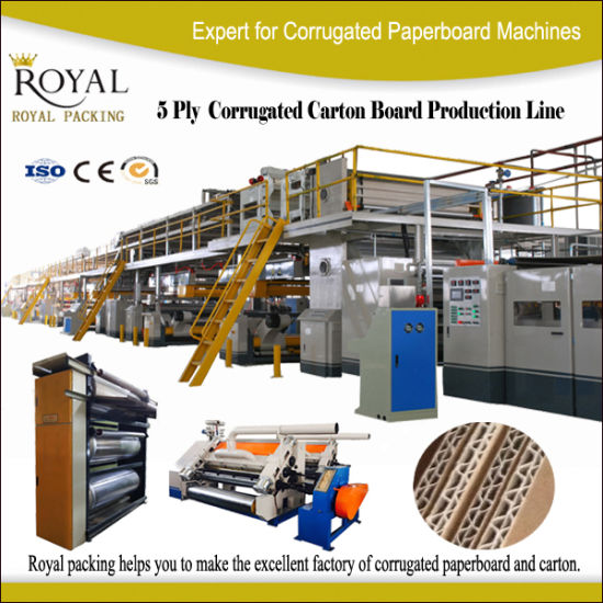 5 Ply Combined Automatic Paper Corrugated Board Making Plant pictures & photos