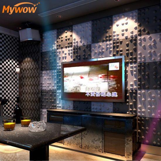 Decorative PARA Pared 3D PVC Wall Panel Art Wall Panel
