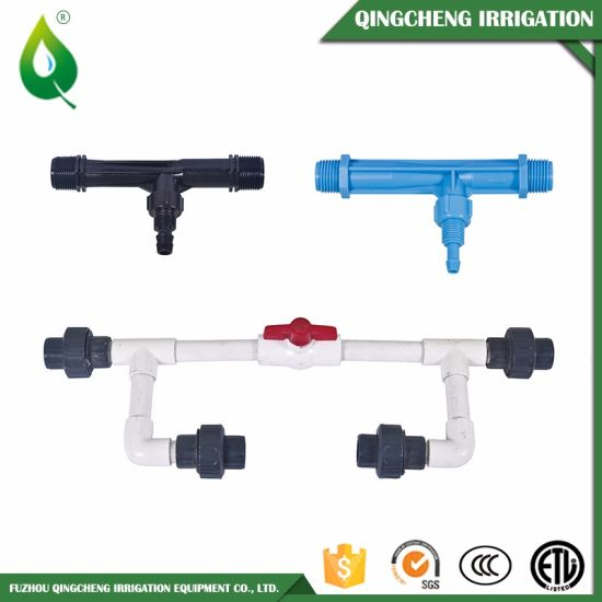 High Quality Irrigation System Venturi Fertilizer Injector pictures & photos