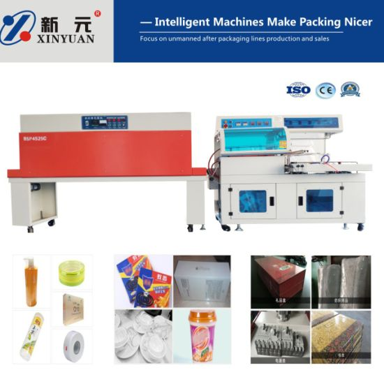 Automatic L-Type Bag/Cup Heat Sealer/Sealing Packaging/Packing Machine