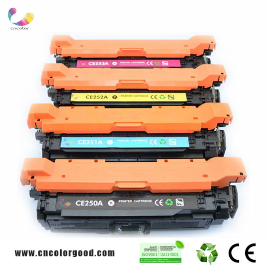 Genuine Original Printer Toner for CB540A CF210A Cc530A Q6000A CE270A CE400A CE260A for HP Packing Toner Cartridge pictures & photos