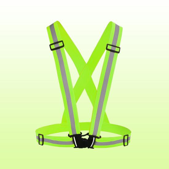 China Factory Wholesale Custom Waterproof Adjustable Kids Adults LED Light Safety Reflective Vest