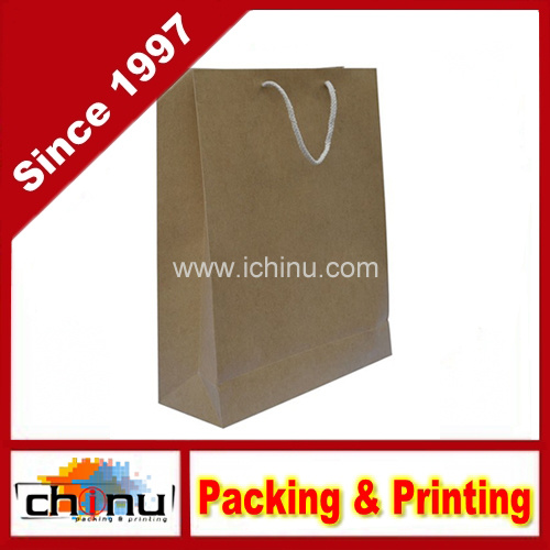 Custom Printed Gift Paper Kraft Bag (220002) pictures & photos