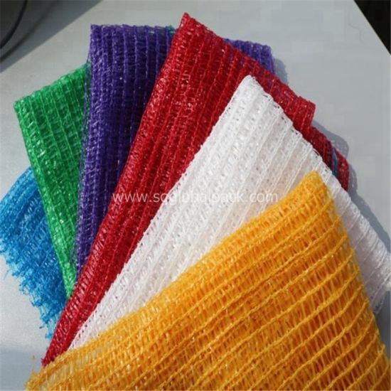 China Virgin Material Pe Raschel Mesh Bag For Vegetables