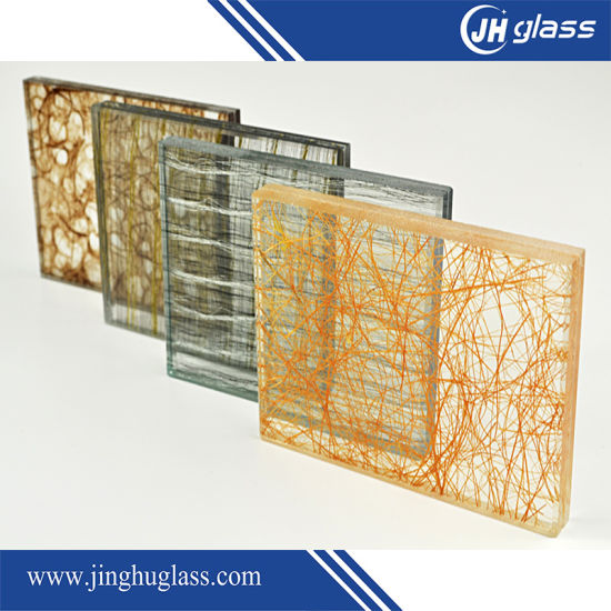 13.52mm Tempered Green Laminated Glass pictures & photos