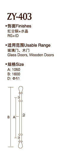 High Quality Door Handle (ZY-403) pictures & photos