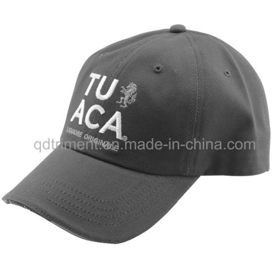 6-Panel Brushed Cotton Twill Golf Baseball Leisure Hat (TMB13012)