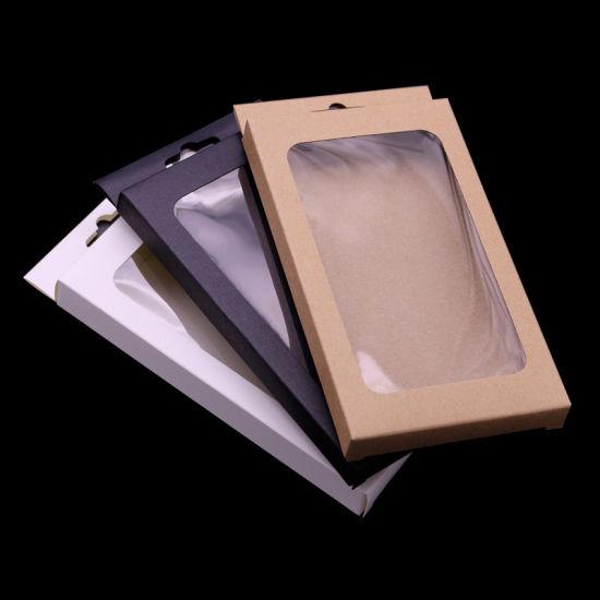 Wholesale Brown Kraft Paper Mobile Phone Case Packaging Box