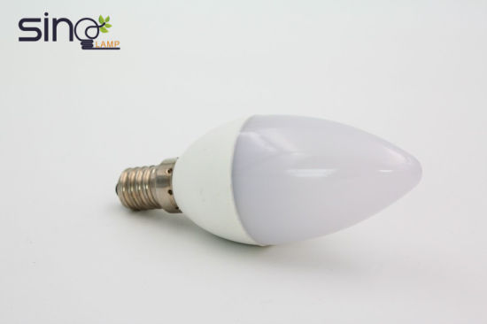 Wholesale LED Lights AC85-265V C37 7W E14 E27 LED Candle Bulb
