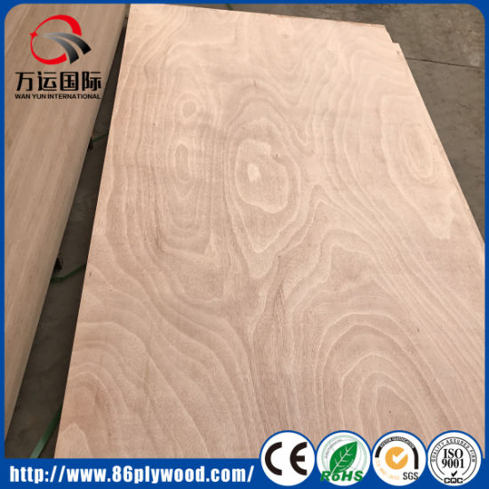 Poplar Pine Wood Core Mahogany Okoume Commercial Plywood pictures & photos