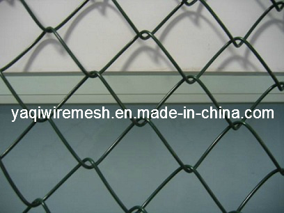 3.0mm*50mm*50mm PVC Coated Galvanized Chain Link Fence High Quality