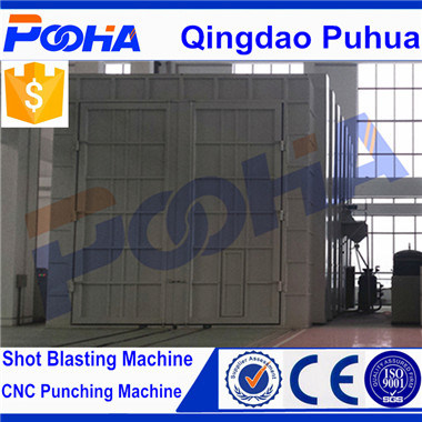 Q26 Sand Blasting Room Shot Blasting Chamber CE pictures & photos