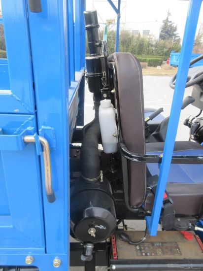 Open Cargo Diesel Chinese Waw Motorized Three Wheel Tricycle pictures & photos