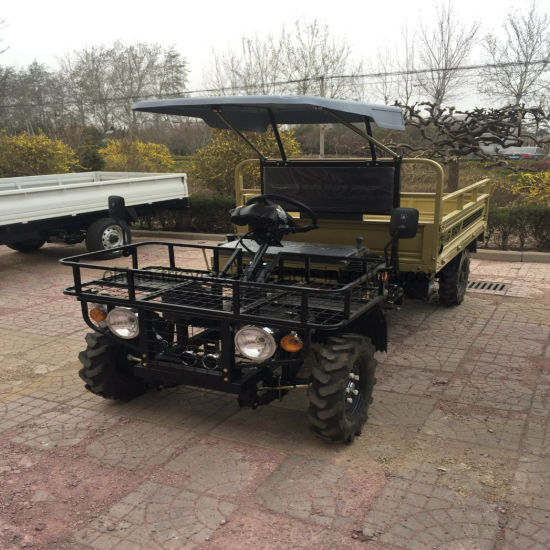 Dump Funcations Diesel Utility Farm Boss UTV with Large Cabine pictures & photos