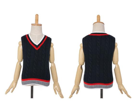 a06bc0f858ca9 China 2016 High Quality Kids Knit Vest Pattern Child Sleeveless ...