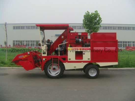90HP Small Corn Harvesters Machine for Small Family Farm pictures & photos