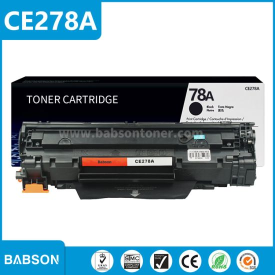 P1566 P1606DN P1606 Works with: Laserjet P1536 Print.After.Print Compatible Toner Replacement for HP CE278A 42/% More Yield! Black Jumbo Toner