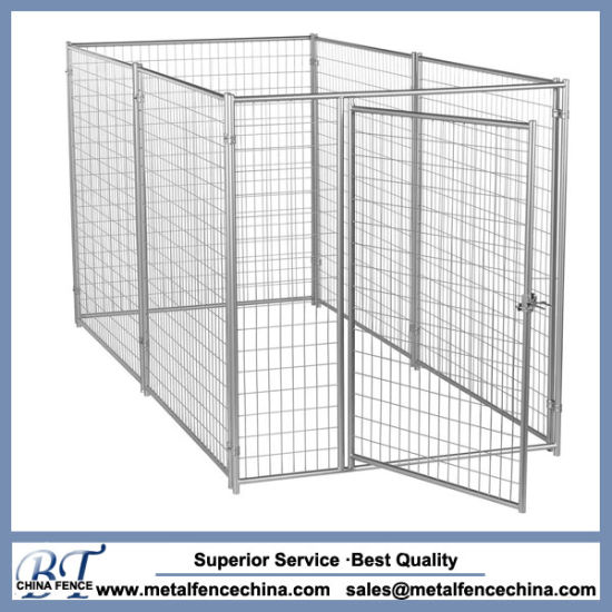 China Welded Wire Modular Pet Enclosure Kennel Panel with Gates ...