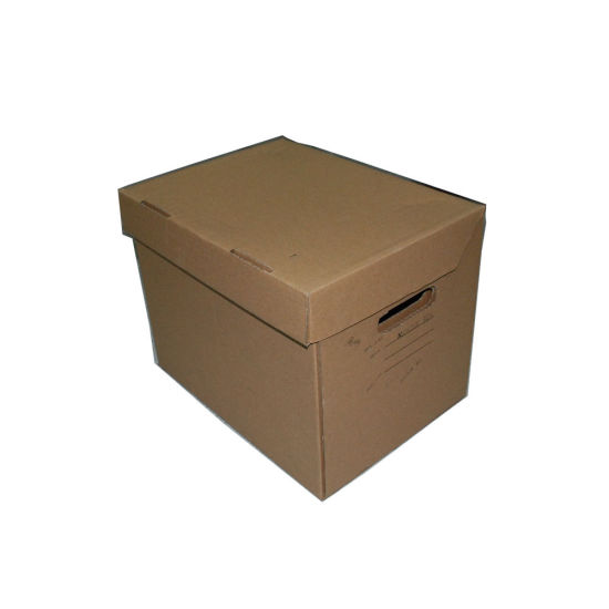 Corrugated Recycle Custom Logo Paper Packing Shipment Use Boxes with Cover