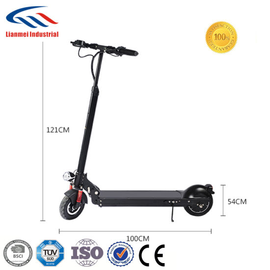 Best Selling 36V Lithium Battery Folding Electric Scooter pictures & photos