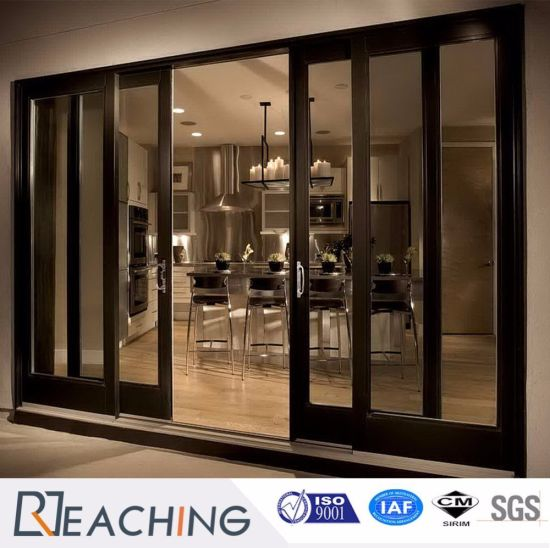 China a Level Aluminium Frame Sliding Door Soft-Closing Anti-Noise ...