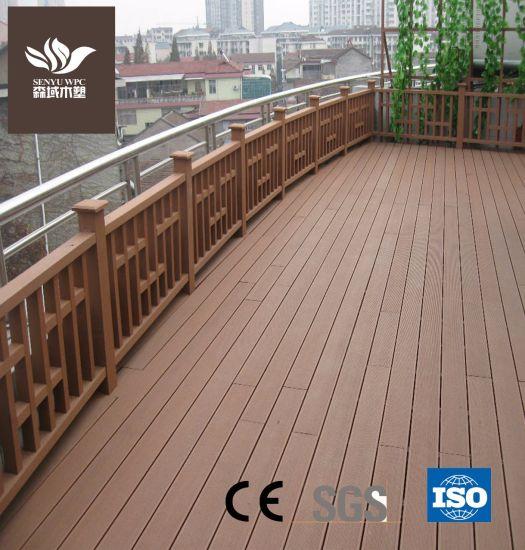 UV-Resistance WPC Outdoor Hollow Flooring