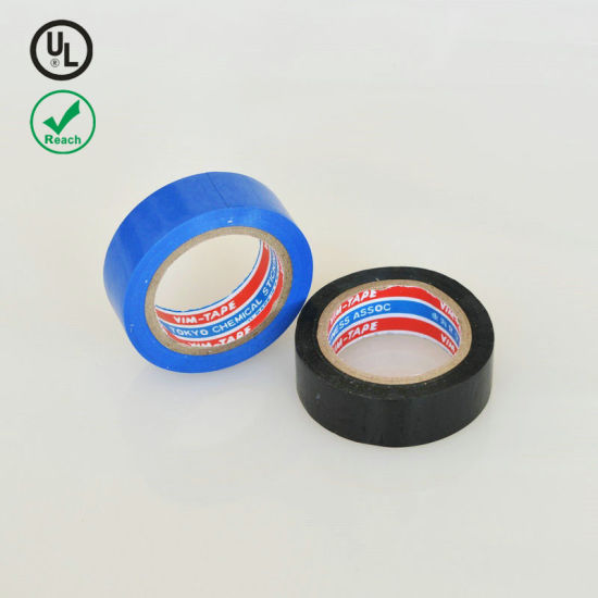 Flame Retardant Insulation China Manufacturer Electrical Insulation PVC Tape pictures & photos