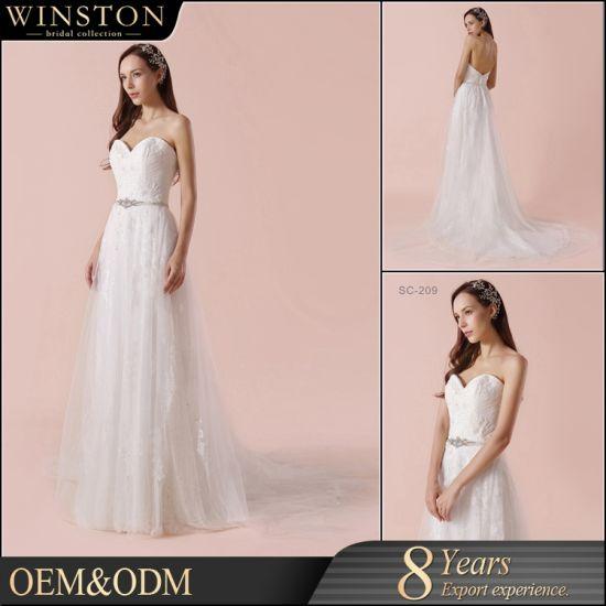 China MOQ 1 PC Latest Designs Wedding Dress Girls Party Dresses ...