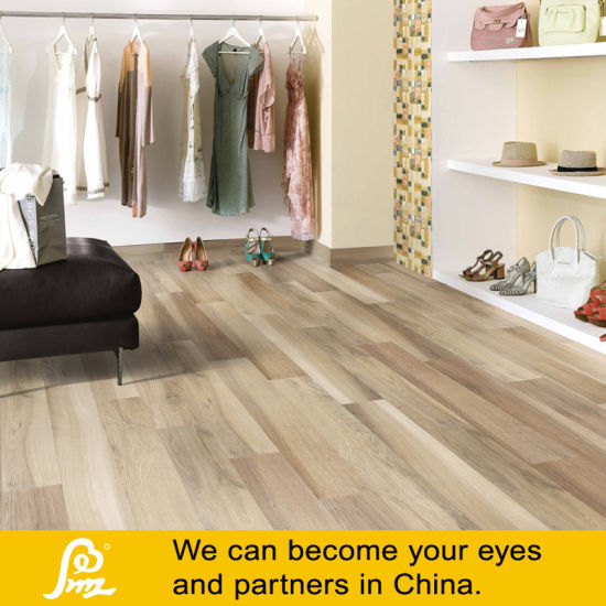 Wooden Khaki Porcelain Floor Tiles with Random Faces pictures & photos