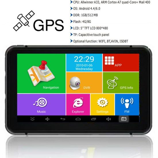 Cheap7.0inch IPS Multi-Touch Car Android Bluetooth 3G Tablet PC with GPS Navgation, 5.0mega Full HD1080p DVR,Dual Car Rear Parking Camera;New GPS Navigator Map, pictures & photos