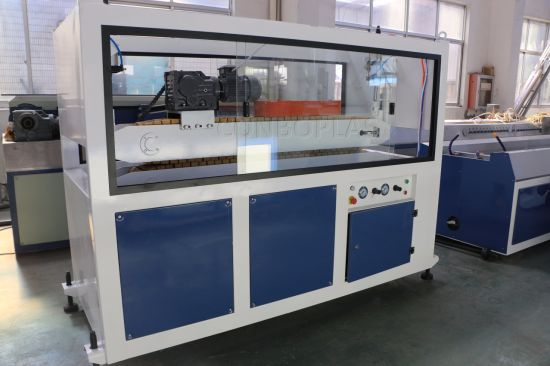 Plastic Extruder PVC Cable Wire Trunking Profile Making Machine pictures & photos