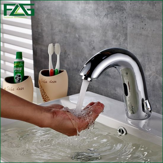 Flg Factory New Style Brass Automatic Sensor Faucet