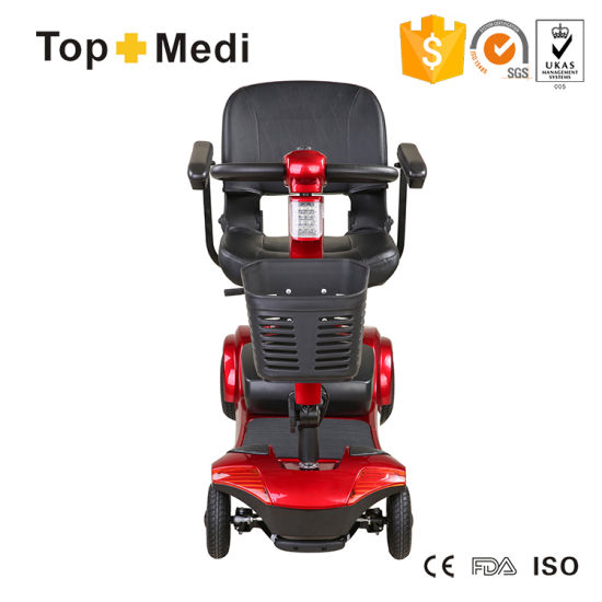 Medical Equipment Folding Electric Vehicle Mobility Scooter for Disabled People