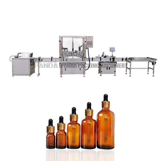 Automatic Hemp Cbd Oil Filling Machine