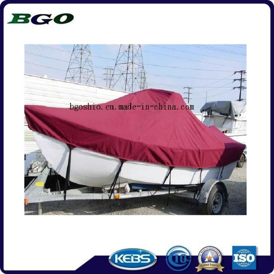 Water Resistant Polyester Boat Cover pictures & photos