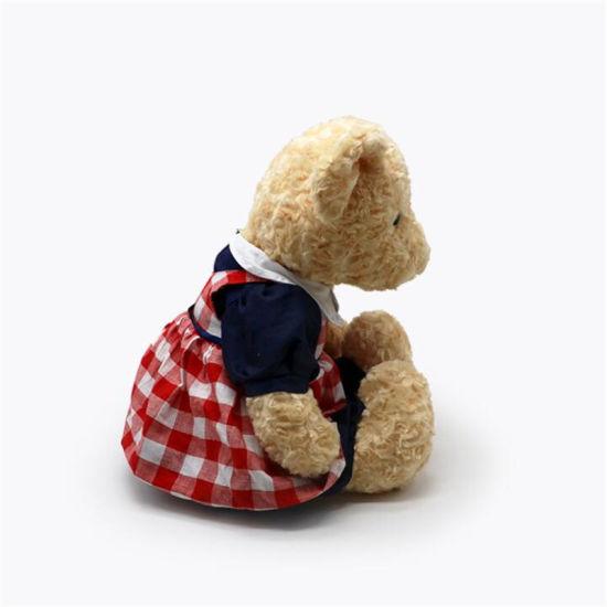 Uniform Skirts Clothes Valentine's Day Cute Plush Teddy Bear Toy