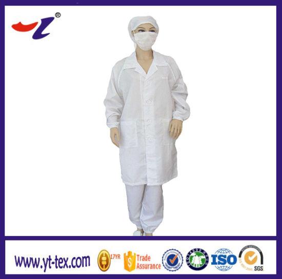ESD Clothing Fabric Anti Static Clothing Anti Static Finish Textile