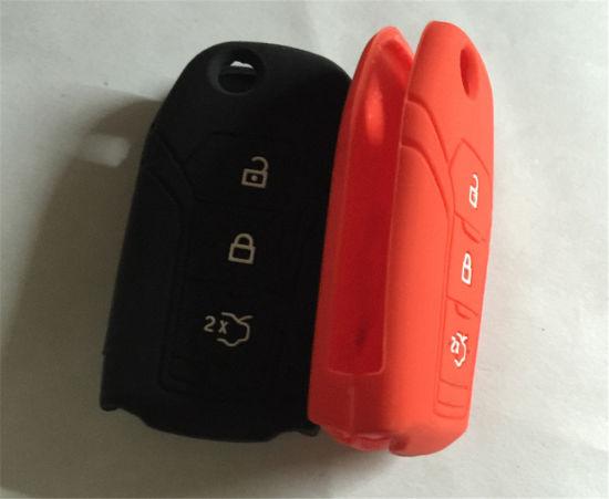 Sy06-01-010 Food Grade Rubber Alarm Remote Vehicle Key Case